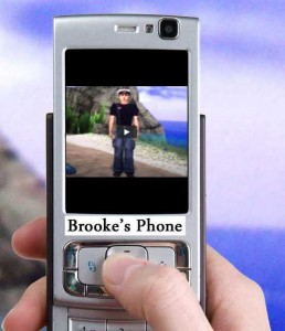 Brooke's phone begins to act strangely on the island!